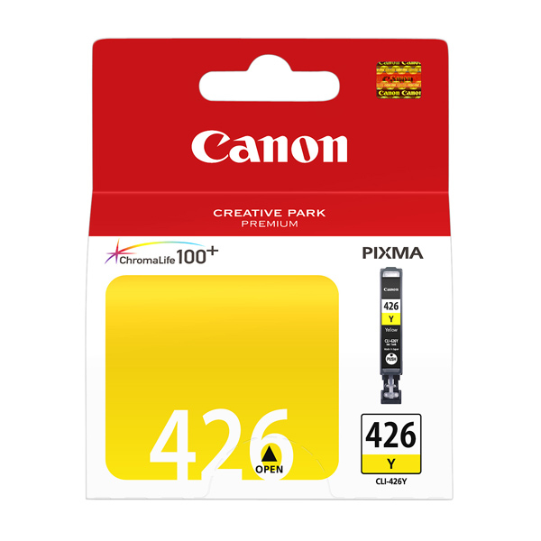 Картридж Canon CLI-426Y, оригинальный