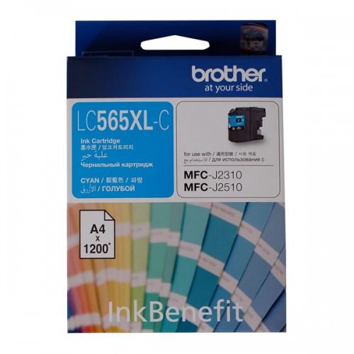 Картридж Brother LC565XLC, оригинальный