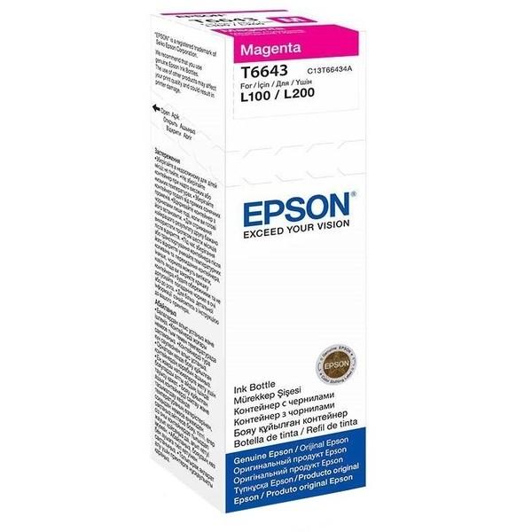 Картридж Epson C13T66434A, оригинальный