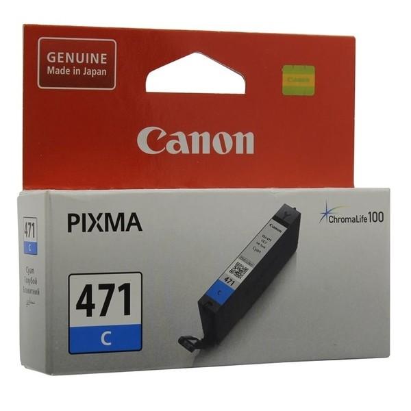 Картридж Canon CLI-471C, оригинальный
