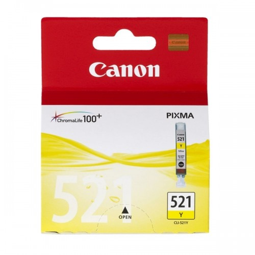 Картридж Canon CLI-521Y, оригинальная
