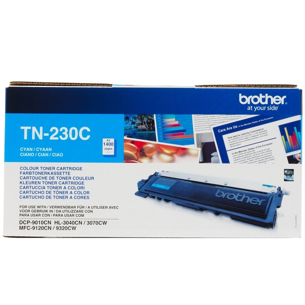 Картридж Brother TN-230C, оригинальный в тех. упаковке