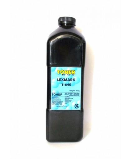 Тонер Bulat Lexmark T-640 (64016HE/64416XE) 640g, совместимый