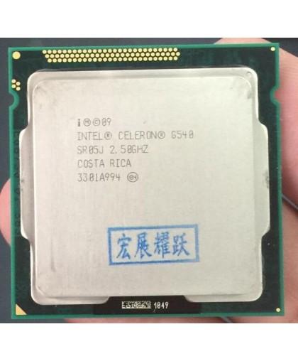 Процессор CPU Intel Celeron Dual-Core G540 {2.5ГГц, 512КБ/2МБ, 65Вт, Socket 1155} (ОЕМ)