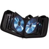 Портмоне для 24 CD, НАМА, серебристый металик