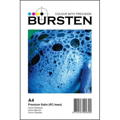 Фотобумага Bursten Премиум сатин А4 260гр/м2, 50 листов