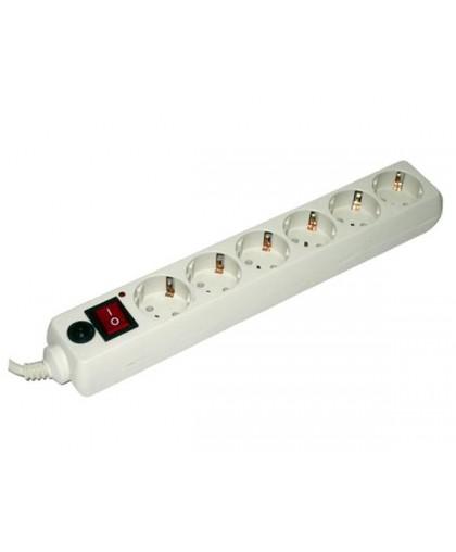 Сетевой фильтр 6 розеток (3 m) (600SH-3-9ft)