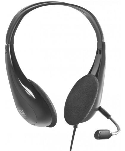 Наушники с микрофоном Defender Esprit HN-836 Черный, кабель 2м