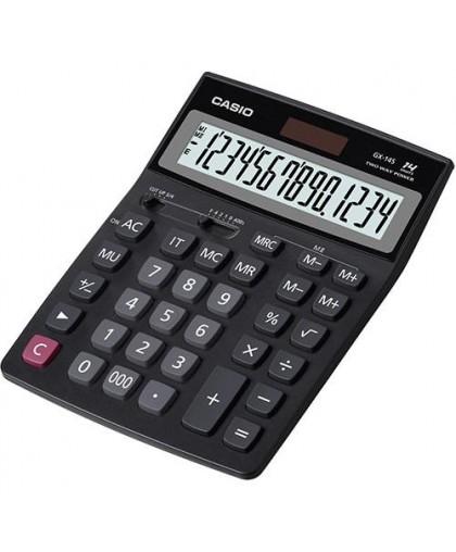 Калькулятор Casio GX-14S, 14-разрядный, размер: 155x205x36 мм, вес - 226 гр