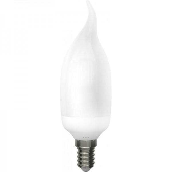 211111 Лампа эн.сб. ECON CNT 11Вт Е14 2700К B35 желтый свет (аналог лампы накаливания 55Вт)
