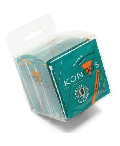 Салфетки Konoos влажные для ЖК-экранов в инд. упаковке 30 шт (KTS-30) KTS-30