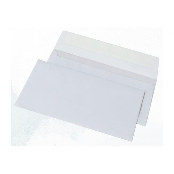 Конверты почтовые Е65/DL размер 110х220 мм, артикул 1141 (1000шт. в уп.)