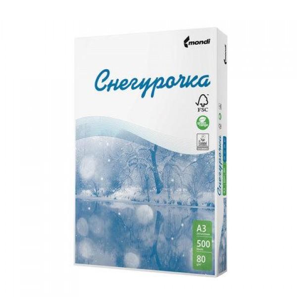 Бумага А3 для оргтехники и полиграфии Сыктывкар 297*420 мм, 80 г/м2 500 листов