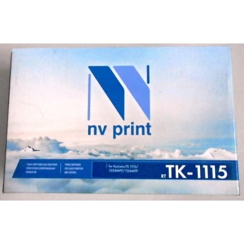 Картридж Nv print TK-1115, совместимый