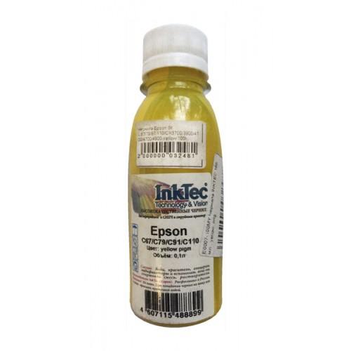 Чернила Inktec Epson C67/79/87/110/CX3700/3900/4100/4700/4900 Yellow, совместимый