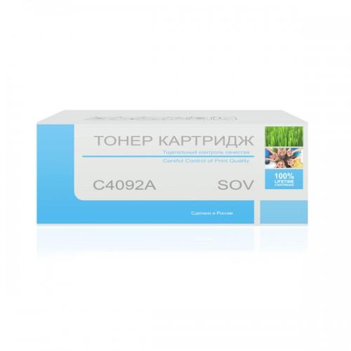 Картридж Sov C4092A, совместимый
