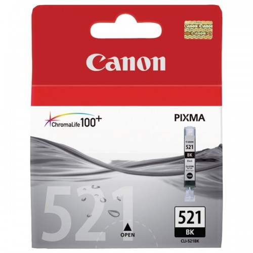 Картридж Canon CLI-521BK, оригинальная