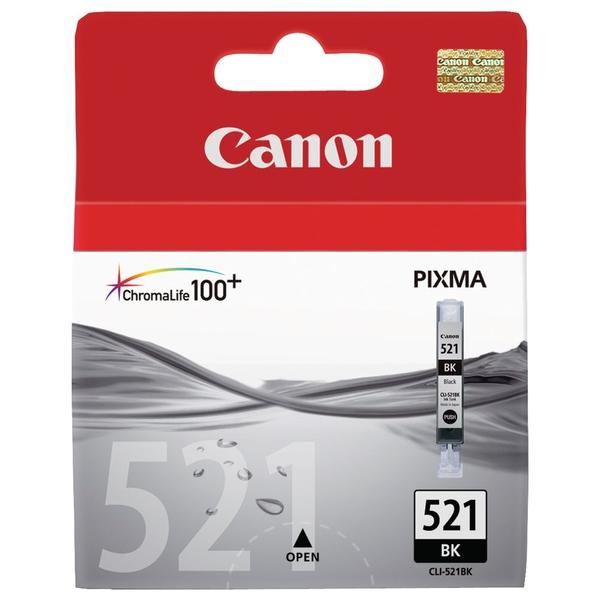 Картридж Canon CLI-521BK, оригинальный